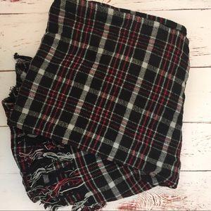 Accessories - Handmade Fringe Long Blanket Scarf